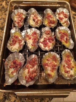 how to grill oysters with bacon in sos shells